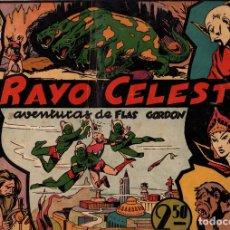 Tebeos: EL RAYO CELESTE. FLASH GORDON. ORIGINAL. Lote 130403983