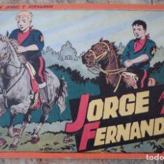 Tebeos: JORGE Y FERNANDO ALBUM ROJO Nº 4 HISPANO AMERICANA DE EDICIONES MUY BUEN ESTADO. Lote 130483846