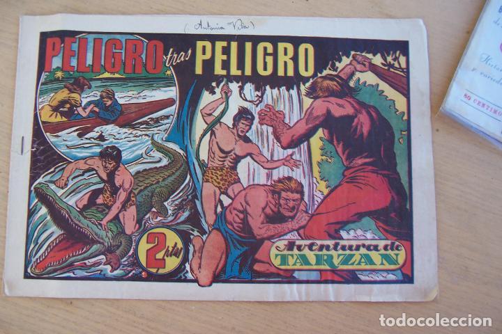 Tebeos: hispano americana - colección de tarzán, años 40, ver interior, - Foto 90 - 26004502