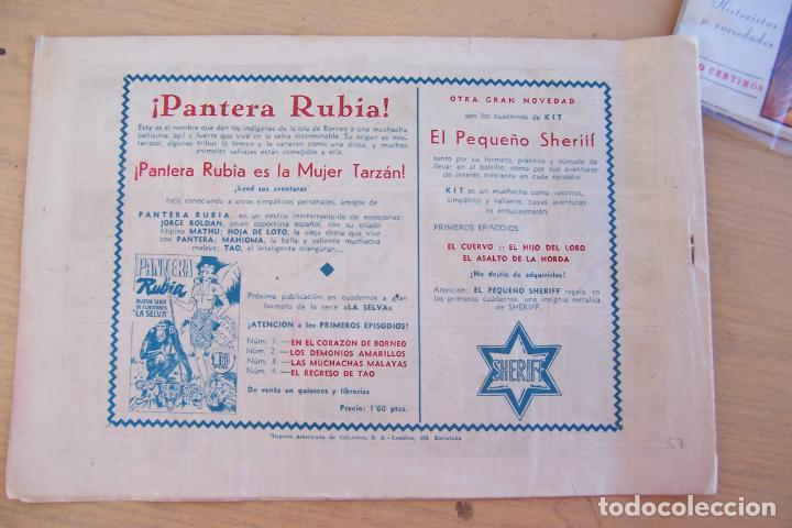 Tebeos: hispano americana - colección de tarzán, años 40, ver interior, - Foto 91 - 26004502