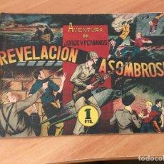 Tebeos: AVENTURA DE JORGE Y FERNANDO Nº 76 REVELACION ASOMBROSA (ED. HISPANO AMERICANA) (COIM7). Lote 130826628