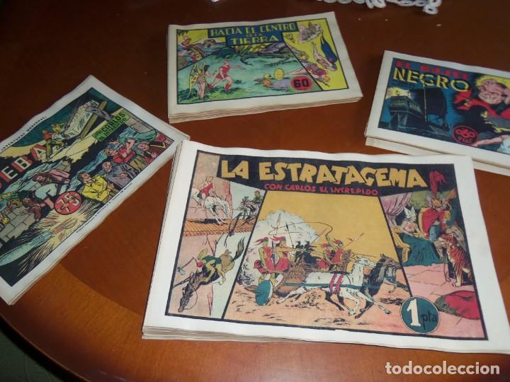 CARLOS EL INTREPIDO --COLECCIÓN COMPLETA- (Tebeos y Comics - Hispano Americana - Carlos el Intrépido)