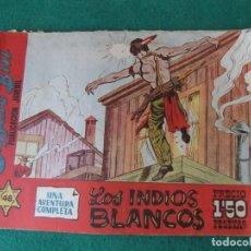 Tebeos: BUFFALO BILL Nº 48 LOS INDIOS BLANCOS HISPANO AMERICANA DE EDICIONES. Lote 131184224