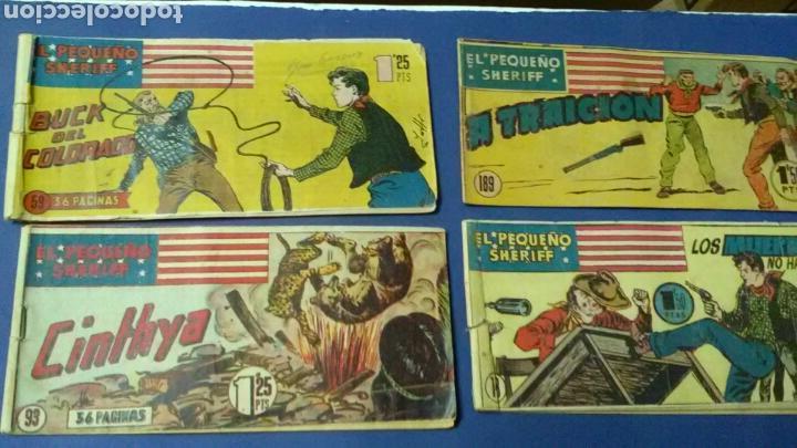 EL PEQUEÑO SHERIFF .ORIGINAL .N°S 59-93-148-149 (Tebeos y Comics - Hispano Americana - Otros)