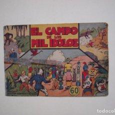 Tebeos: EL CAMPO DE LOS MIL ÍDOLOS - COLECCIÓN AVENTURAS Y MISTERIO - HISPANO AMERICANA. Lote 131528998