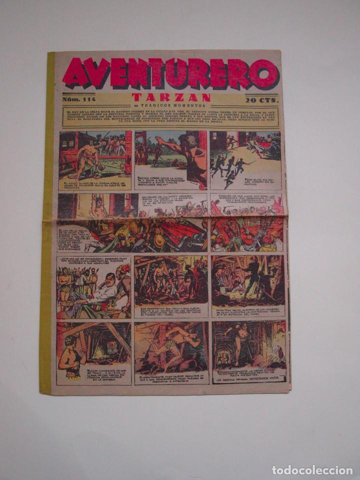 AVENTURERO 114 - HISPANO AMERICANA (Tebeos y Comics - Hispano Americana - Aventurero)