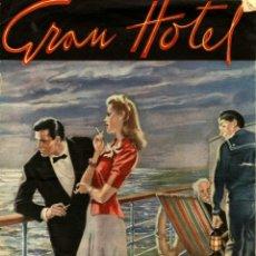 Tebeos: GRAN HOTEL NÚMERO 3 (HISPANO AMERICANA, MARZO DE 1947). Lote 131868522