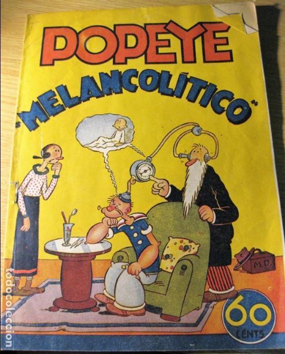 POPEYE MELANCOLITICO . EED HISPANO AMERICANA DE EDICIONES . SIN CROMOS (Tebeos y Comics - Hispano Americana - Otros)