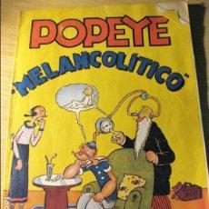 Tebeos: POPEYE MELANCOLITICO . EED HISPANO AMERICANA DE EDICIONES . SIN CROMOS. Lote 132012774