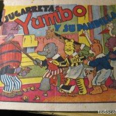 Tebeos: YUMBO Y SU PANDILLA HISPANOAMERICANA DE EDICIONES . . Lote 132015454