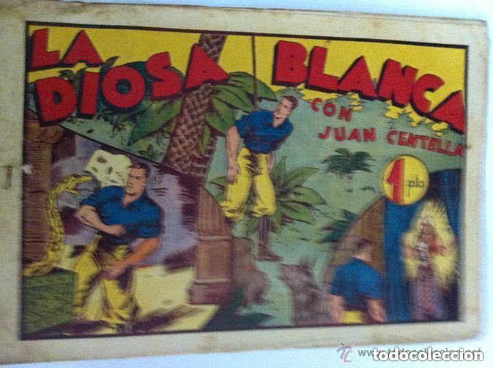 JUAN CENTELLA - LA DIOSA BLANCA - USADO (Tebeos y Comics - Hispano Americana - Juan Centella)