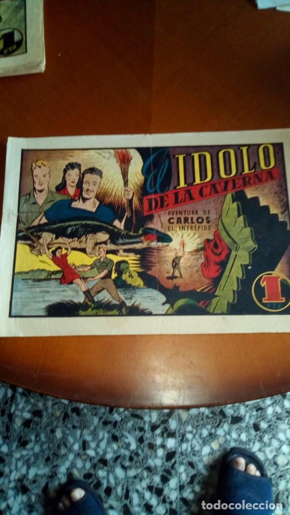 Tebeos: CARLOS EL INTRÉPIDO-COLECCIÓN ORIGINAL COMPLETA-- - Foto 18 - 132207526