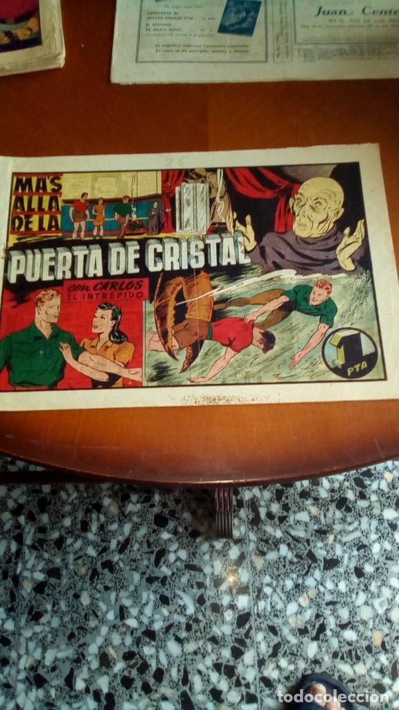 Tebeos: CARLOS EL INTRÉPIDO-COLECCIÓN ORIGINAL COMPLETA-- - Foto 20 - 132207526