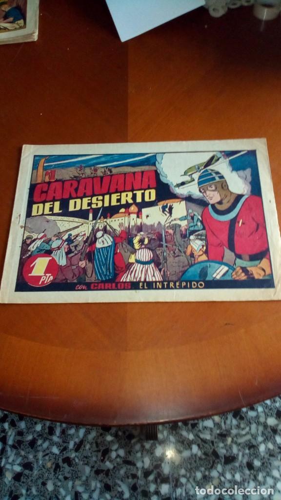 Tebeos: CARLOS EL INTRÉPIDO-COLECCIÓN ORIGINAL COMPLETA-- - Foto 26 - 132207526