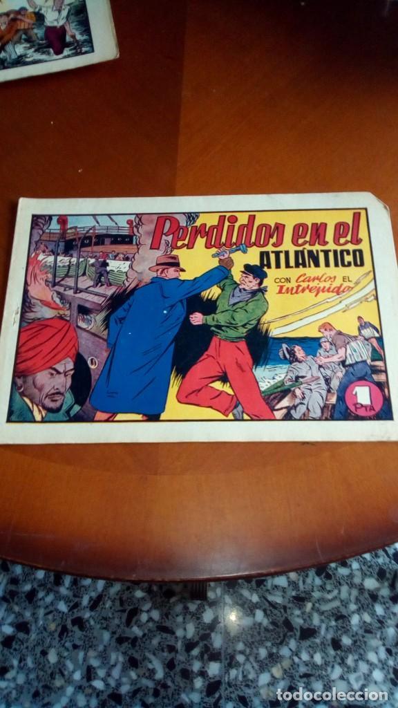Tebeos: CARLOS EL INTRÉPIDO-COLECCIÓN ORIGINAL COMPLETA-- - Foto 30 - 132207526