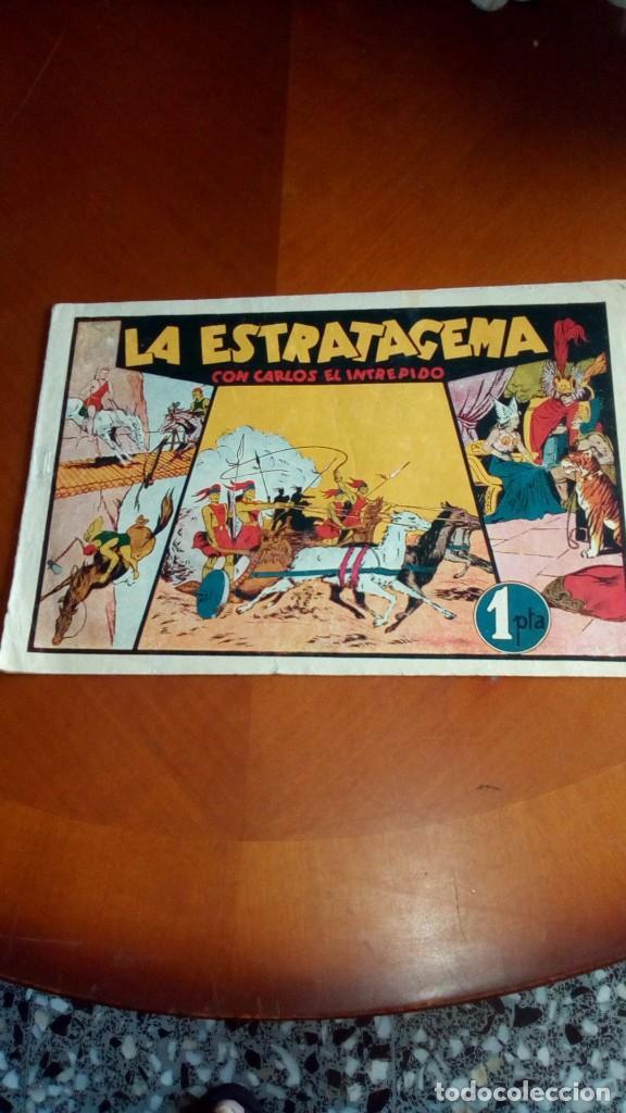 Tebeos: CARLOS EL INTRÉPIDO-COLECCIÓN ORIGINAL COMPLETA-- - Foto 51 - 132207526