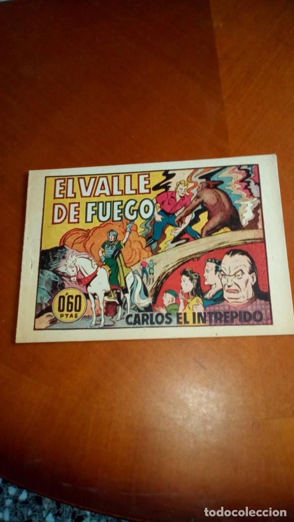 Tebeos: CARLOS EL INTRÉPIDO-COLECCIÓN ORIGINAL COMPLETA-- - Foto 61 - 132207526