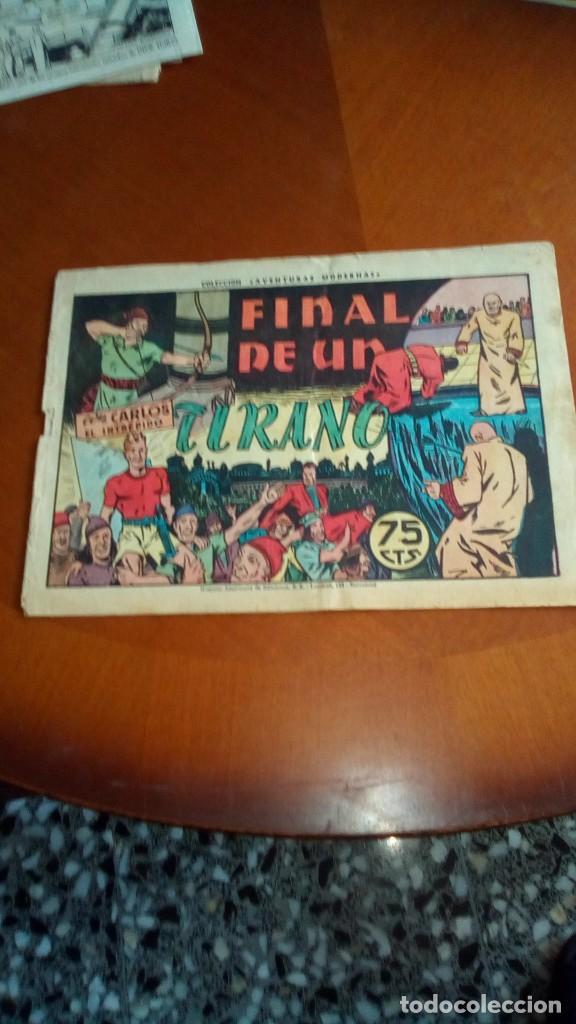 Tebeos: CARLOS EL INTRÉPIDO-COLECCIÓN ORIGINAL COMPLETA-- - Foto 82 - 132207526