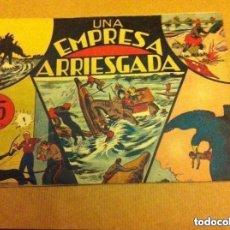 Tebeos: JORGE Y FERNANDO - UNA EMPRESA ARRIESGADA (LOMO REPARADO). Lote 132211674