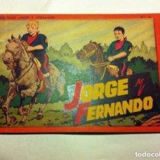 Tebeos: JORGE Y FERNANDO -ALBUM ROJO Nº. 4 - MUY BIEN CONSERVADO. Lote 132211898