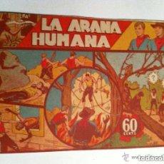 Tebeos: JORGE Y FERNANDO - LA ARAÑA HUMANA (RAIDO EN CONTRAPORTADA. Lote 132214526