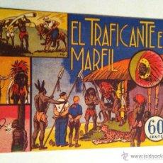 Tebeos: JORGE Y FERNANDO - EL TRAFICANTE EN MARFIL - IMPECABLE. Lote 132214642