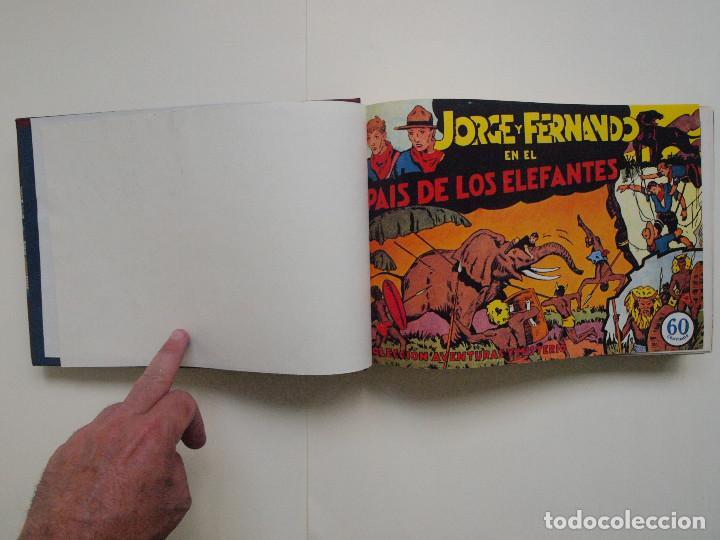 TOMO ENCUADERNADO Nº DEL 1 AL 27 FACSÍMILES DE JORGE Y FERNANDO DE HISPANO AMERICANA 1940 (Tebeos y Comics - Hispano Americana - Jorge y Fernando)