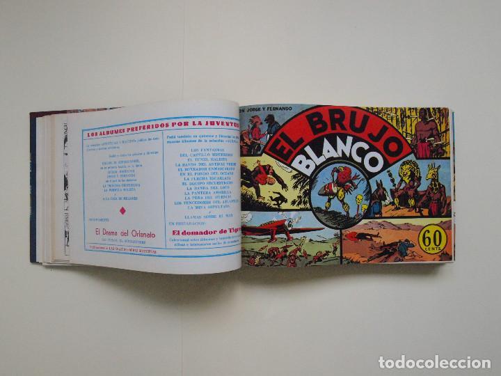 Tebeos: TOMO ENCUADERNADO Nº DEL 1 AL 27 FACSÍMILES DE JORGE Y FERNANDO DE HISPANO AMERICANA 1940 - Foto 4 - 132234566