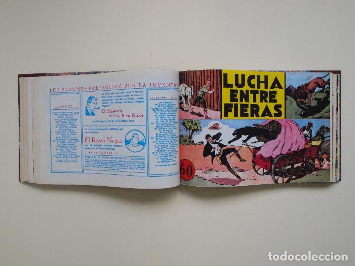 Tebeos: TOMO ENCUADERNADO Nº DEL 1 AL 27 FACSÍMILES DE JORGE Y FERNANDO DE HISPANO AMERICANA 1940 - Foto 5 - 132234566