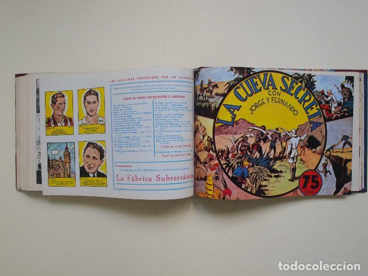 Tebeos: TOMO ENCUADERNADO Nº DEL 1 AL 27 FACSÍMILES DE JORGE Y FERNANDO DE HISPANO AMERICANA 1940 - Foto 6 - 132234566