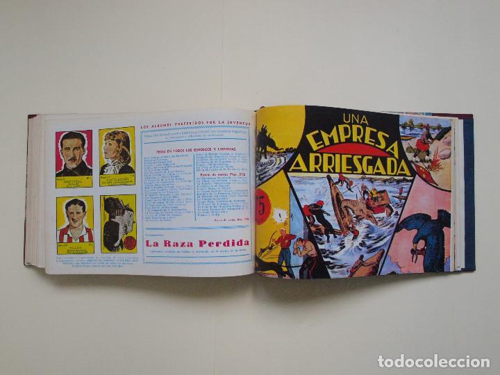 Tebeos: TOMO ENCUADERNADO Nº DEL 1 AL 27 FACSÍMILES DE JORGE Y FERNANDO DE HISPANO AMERICANA 1940 - Foto 7 - 132234566
