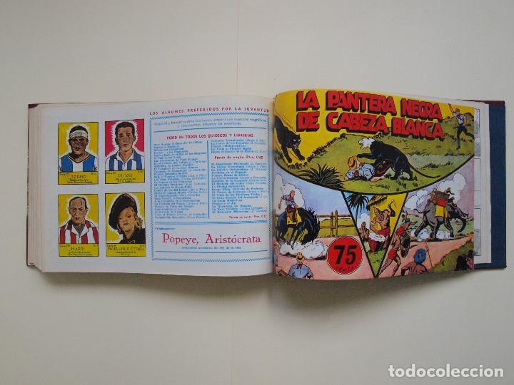 Tebeos: TOMO ENCUADERNADO Nº DEL 1 AL 27 FACSÍMILES DE JORGE Y FERNANDO DE HISPANO AMERICANA 1940 - Foto 8 - 132234566