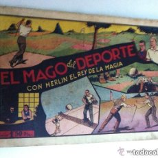 Tebeos: MERLIN- EL MAGO DEL DEPORTE - USADO. Lote 132657966