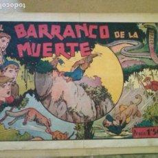 Tebeos: JUAN Y LUIS Nº 6 , EL BARRANCO DE LA MUERTE HISPANO AMERICANA ,. Lote 132718186