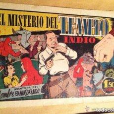 Tebeos: HOMBRE ENMASCARADO - EL MISTERIO DEL TEMPLO INDIO. Lote 132743138