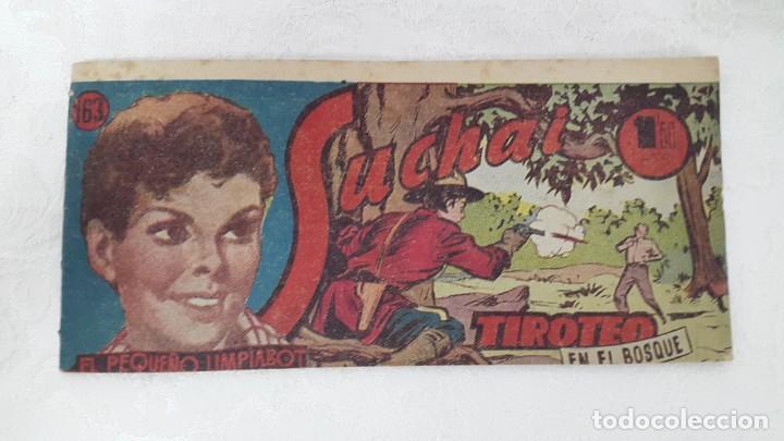 CÓMIC SUCHAI 1949. N°163 TIROTEO (Tebeos y Comics - Hispano Americana - Suchai)