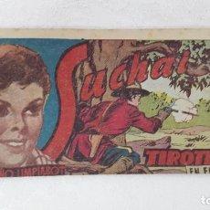 Tebeos: CÓMIC SUCHAI 1949. N°163 TIROTEO. Lote 132900850