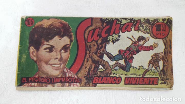 COMIC SUCHAI 1949 N°165 BLANCO VIVIENTE (Tebeos y Comics - Hispano Americana - Suchai)