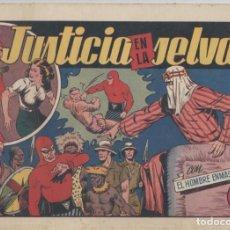 Tebeos: NUMULITE L0317 HOMBRE ENMASCARADO JUSTICIA EN LA SELVA HISPANO AMERICANA EDICIONES GALERÍA DEPORTIVA. Lote 132937442
