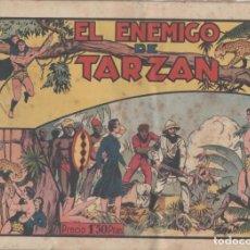 Tebeos: NUMULITE L0321 EL ENEMIGO DE TARZÁN HISPANO AMERICANA EDICIONES CONTRAPORTADA RECORTADA. Lote 132939078