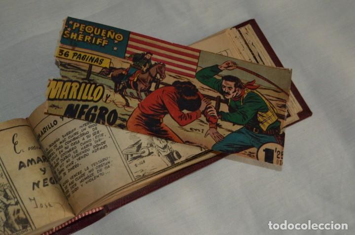 Tebeos: VINTAGE - LOTE DE DOS TOMOS - 48 EJEMPLARES - EL PEQUEÑO CHERIFF - HISPANO AMERICANA - ENVÍO 24H - Foto 47 - 132995150