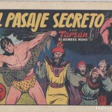Tebeos: NUMULITE L0321 EL PASAJE SECRETO CON TARZÁN EL HOMBRE MONO HISPANO AMERICANA EDICIONES GALERÍA . Lote 133166330