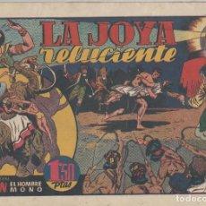 Tebeos: NUMULITE L0322 LA JOYA RELUCIENTE CON TARZÁN EL HOMBRE MONO HISPANO AMERICANA EDICIONES GALERÍA. Lote 133166510