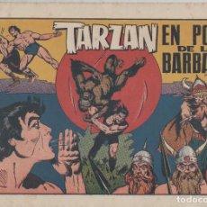 Tebeos: NUMULITE L0323 TARZÁN EN PODER DE LOS BÁRBAROS HISPANO AMERICANA EDICIONES GALERÍA DEPORTIVA. Lote 133166562