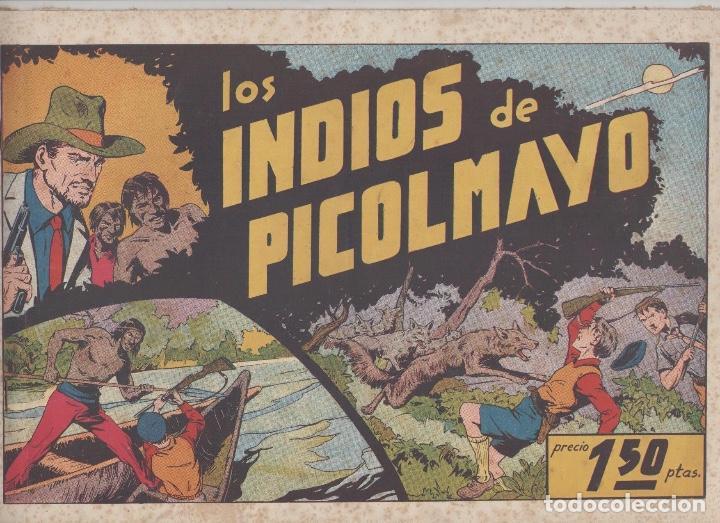 NUMULITE L0326 LOS INDIOS DE PICOLMAYO HISPANO AMERICANA EDICIONES GALERÍA DEPORTIVA (Tebeos y Comics - Hispano Americana - Otros)