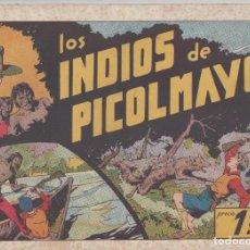 Tebeos: NUMULITE L0326 LOS INDIOS DE PICOLMAYO HISPANO AMERICANA EDICIONES GALERÍA DEPORTIVA. Lote 133166990