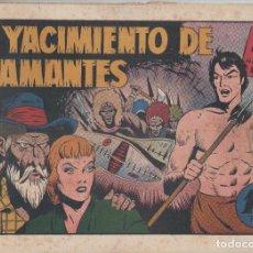 Tebeos: NUMULITE L0329 EL YACIMIENTO DE DIAMANTES CON TARZAN EL HOMBRE MONO HISPANO AMERICANA EDICIONES GALE. Lote 133167250