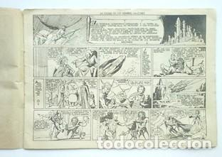 Tebeos: FLAS GORDON LA CIUDAD DE LOS HOMBRES HALCONES- 1942- Nº 2- EDIT HISPANO AMERICANA - Foto 3 - 133248938
