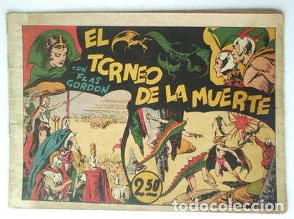 FLAS GORDON. EL TORNEO DE LA MUERTE- 1942- Nº 3 -EDIT HISPANO AMERICANA (Tebeos y Comics - Hispano Americana - Flash Gordon)