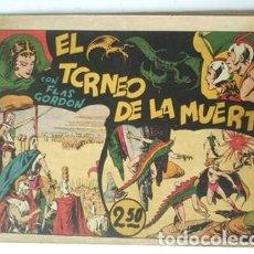 Tebeos: FLAS GORDON. EL TORNEO DE LA MUERTE- 1942- Nº 3 -EDIT HISPANO AMERICANA. Lote 133250202